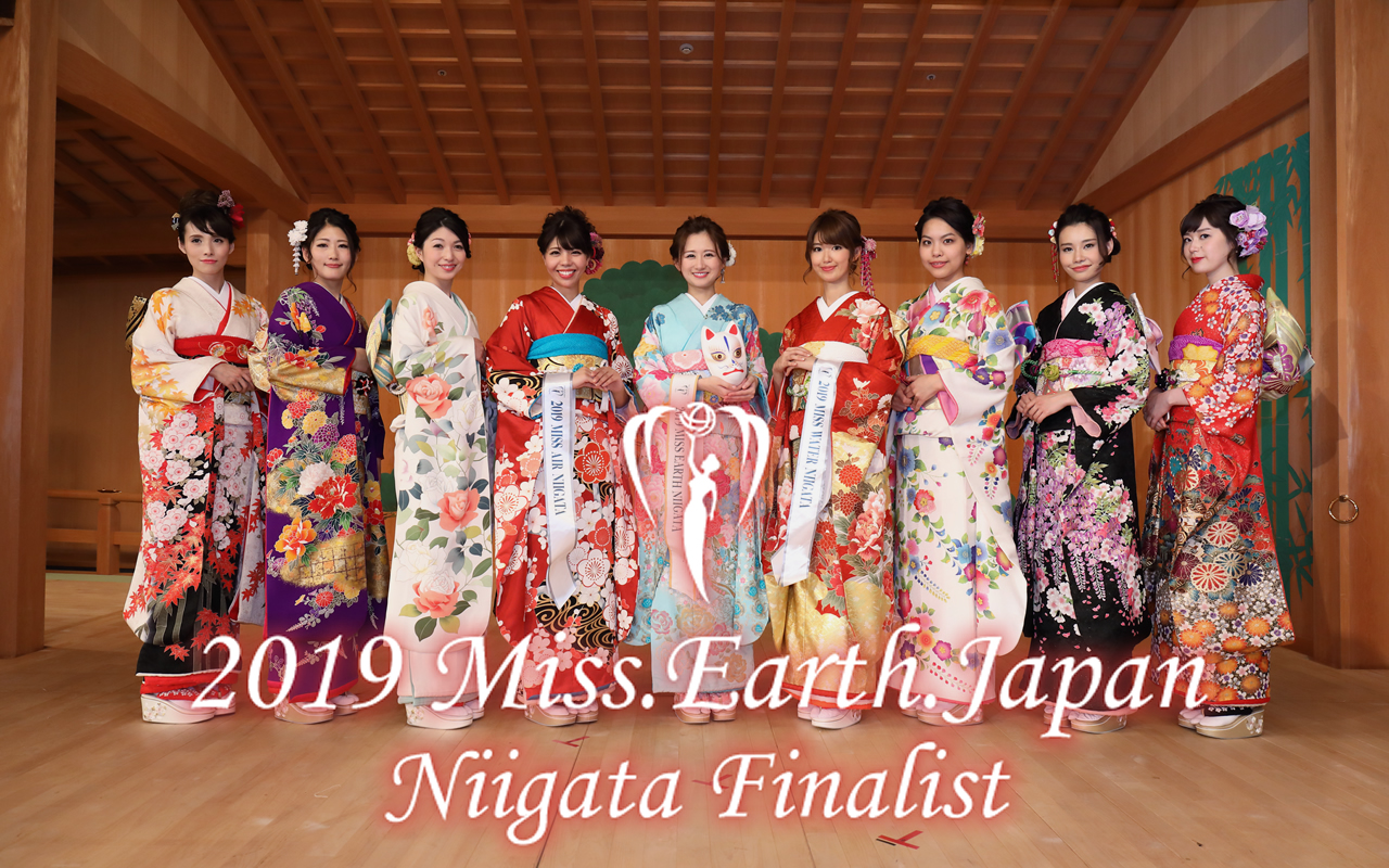 2019 MISS EARTH JAPAN NIIGATA Finalist